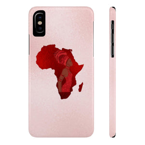 Pink And Red African Inspired Case Mate Slim Phone Cases