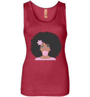 Cocoa Pink Bubble Gum Tank Top - Zabba Designs African Clothing Store