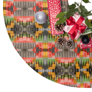 African Wonderland Christmas Tree Skirt - Zabba Designs African Clothing Store