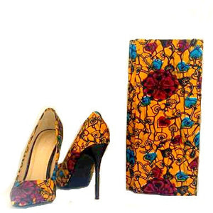 Trendy Mustard African Clutch - Zabba Designs African Clothing Store