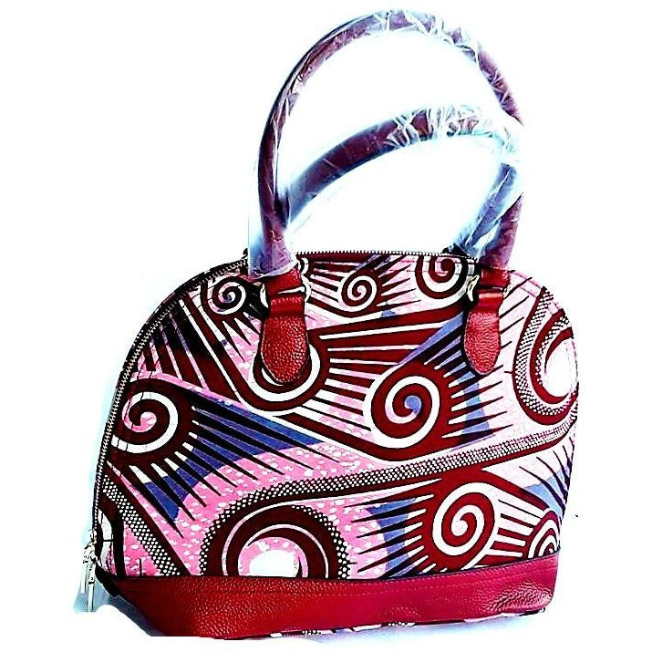Trendy African Fashion Hand Bag Pink - Zabba Designs African Clothing Store