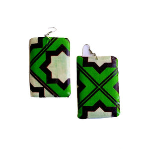 Hope Kenya Wood Earrings - Zabba Designs African Clothing Store
