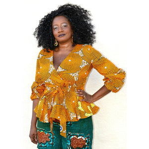 Waki African Print Shorts Set - Zabba Designs African Clothing Store  - 1