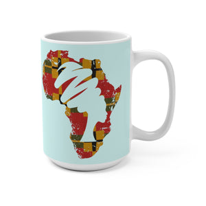 Traditional African Designer's  Coffee Mug - Zabba Designs African Clothing Store