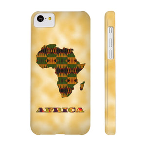 Kente Print Case Mate Slim Phone Cases - Zabba Designs African Clothing Store