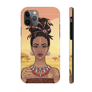 Strong Black Woman Phone Case - Zabba Designs African Clothing Store