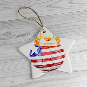 Map Of Liberia Ceramic Christmas Ornaments - Zabba Designs African Clothing Store