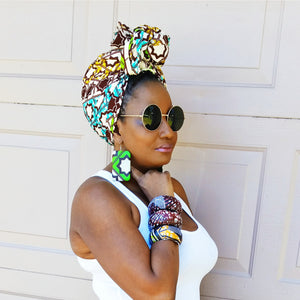 The Nimba Head Wrap - Zabba Designs African Clothing Store