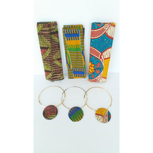 Nunu HeadWrap And Jewelry Set - Zabba Designs African Clothing Store