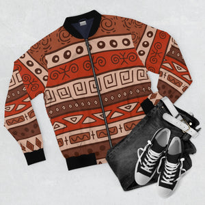 Ocean Men's  Bomber Jacket - Zabba Designs African Clothing Store