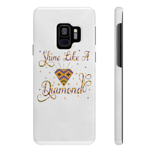Slim Cell Phone Cases Shine Like A Diamond - Zabba Designs African Clothing Store