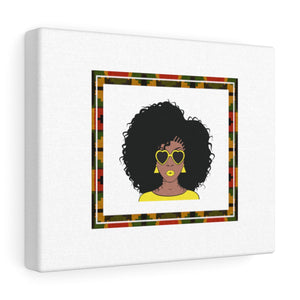 Melanin Queen Canvas Gallery Wraps - Zabba Designs African Clothing Store