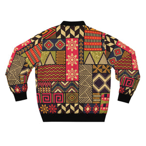 Congo African Inspired  Men's  Bomber Jacket - Zabba Designs African Clothing Store