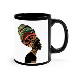 Kenya Women African Tribal mug 11oz - Zabba Designs African Clothing Store