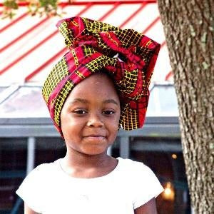 Imani Baby Girl HeadWrap - Zabba Designs African Clothing Store