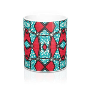 African Inspired Designer's  Coffee Mug - Zabba Designs African Clothing Store