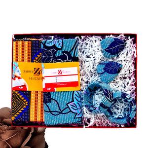 One Time  Head Wrap  Box - Zabba Designs African Clothing Store