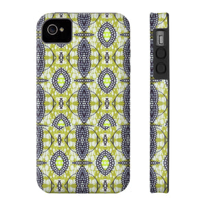 Zula African Fashion Print Phone Case - Zabba Designs African Clothing Store