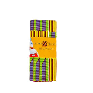 Kente  print Fabric bangles - Zabba Designs African Clothing Store