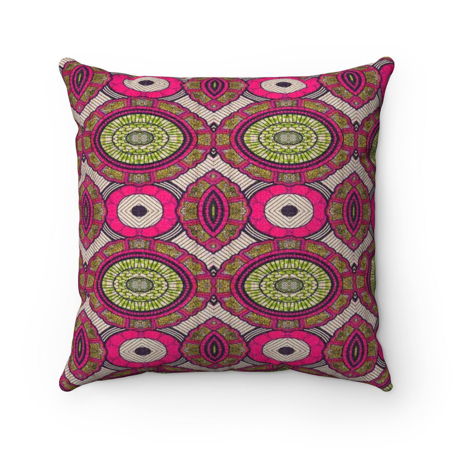 Geometric Angle Throw Suede Square Pillow Case - Zabba Designs African Clothing Store