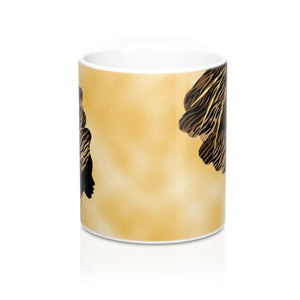African Queen Designer's  Coffee Mug - Zabba Designs African Clothing Store