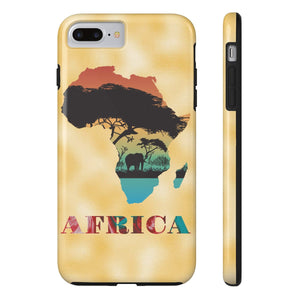 Mama Africa Fashionable Cell Phone Case - Zabba Designs African Clothing Store