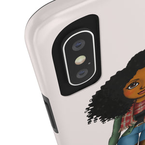 Fly Girl Case Mate Tough Phone Cases - Zabba Designs African Clothing Store