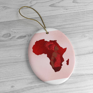 Pink Mama Africa Ceramic Ornaments
