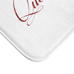 Red Velvet Soft Bath Mat Collection - Zabba Designs African Clothing Store