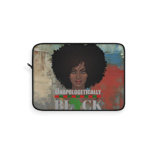 Minnie Melanin Afro Chick Laptop Sleeve - Zabba Designs African Clothing Store