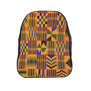 Ghana Kente Prin Unisext Backpack - Zabba Designs African Clothing Store