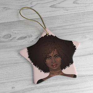 Black Beauty Ceramic Ornaments - Zabba Designs African Clothing Store