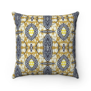 Doll African Fashion Square Pillow - Zabba Designs African Clothing Store