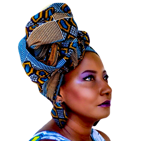 6  MONTH HEAD WRAP BOX, $30.99 / MO. ONE FREE MONTHS, FREE SHIPPING IN THE USA, PLAN AUTOMATICALLY RENEWS, YOU MAY CANCEL AT ANY TIME - Zabba Designs African Clothing Store