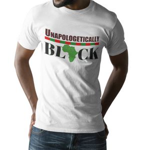 Unapologetically Black Men's Short-Sleeve Unisex T-Shirt