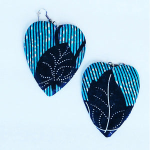 Masy Tribal Print Earrings - Zabba Designs African Clothing Store