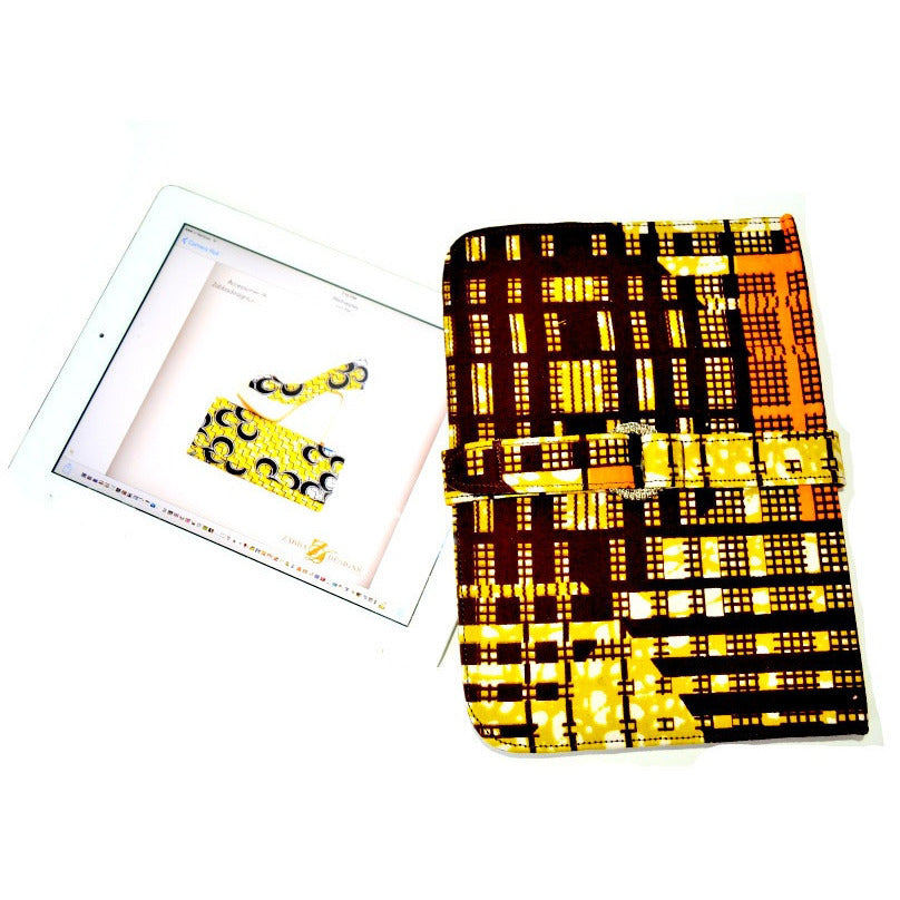 African Fabric I Pad Case, iPad Air 2, iPad Air - Zabba Designs African Clothing Store