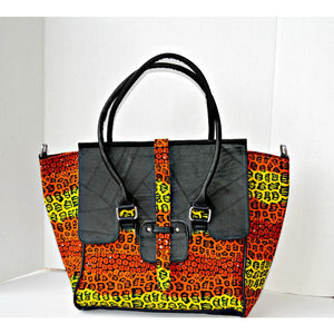 The Ashley  Ghana African Bag - Zabba Designs African Clothing Store