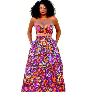 Cache African Print Bundle Set - Zabba Designs African Clothing Store