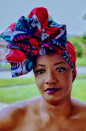 LYCHEE Head Wrap And Jewelry Set - Zabba Designs African Clothing Store