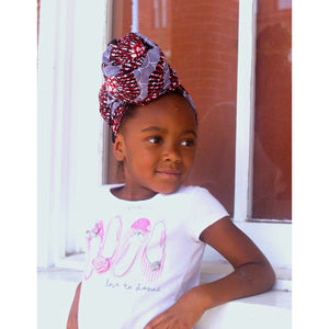 Katlego Girl African Print HeadWrap - Zabba Designs African Clothing Store