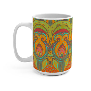 African Inspired  Coffee Mug