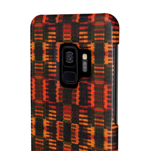 Kente Premium Cell Mate Slim Phone Cases - Zabba Designs African Clothing Store