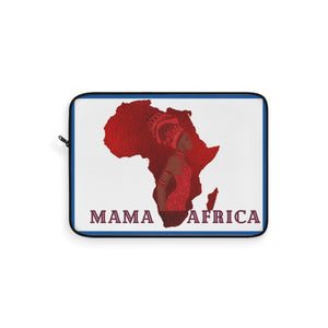 Red Mama Africa Laptop Sleeve - Zabba Designs African Clothing Store
