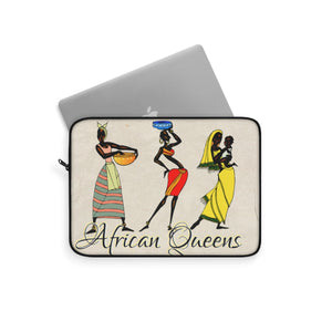 My African Queen Laptop Sleeve - Zabba Designs African Clothing Store
