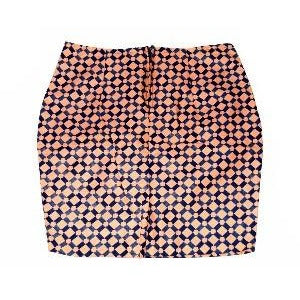 Peach Mini Skirt - Zabba Designs African Clothing Store