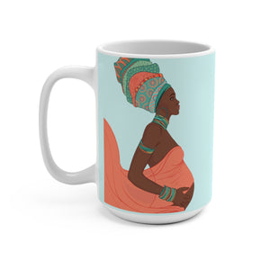 Mother's Love African Designer's  Coffee Mug - Zabba Designs African Clothing Store