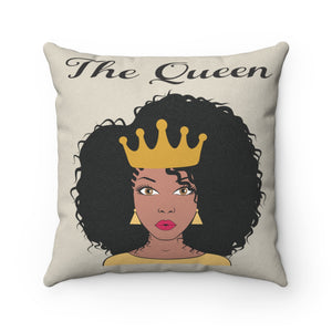Ola Faux Suede Square Pillow - Zabba Designs African Clothing Store