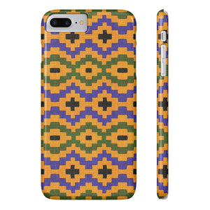 Simba  African Print Phone Case - Zabba Designs African Clothing Store
