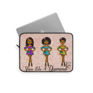Divalicious Laptop Sleeve - Zabba Designs African Clothing Store